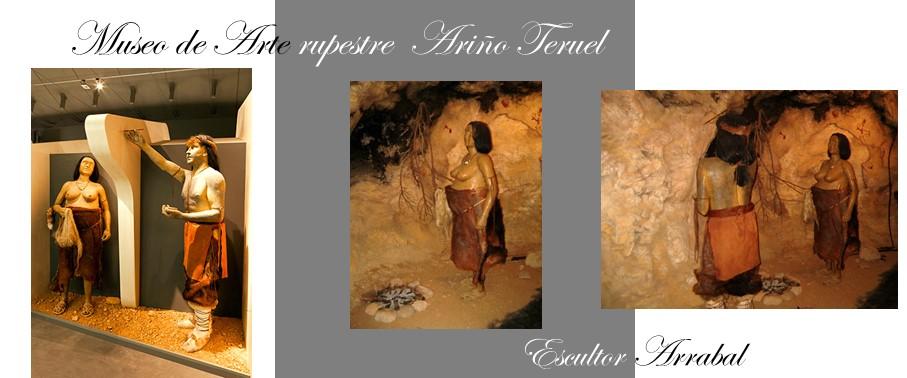 Arte Rupestre Ariño Teruel