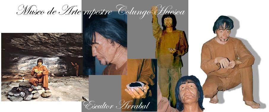 Arte rupestre Colungo Huesca