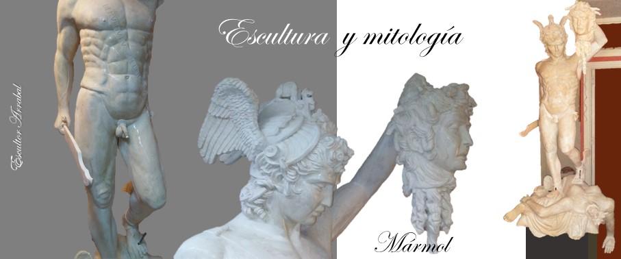 Escultura y Mitología mármol