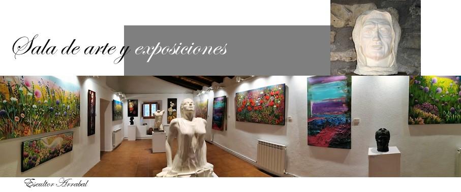Sala de arte y exposiciones