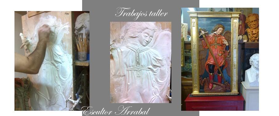 Trabajos de Taller Arcángel San Miguel