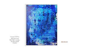 Cuadro Azul B2105